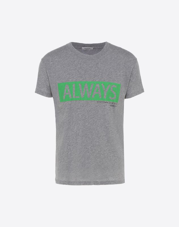 T-Shirt mit Always-Print