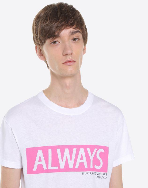 Camiseta con estampado Always