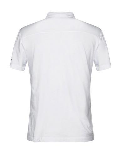 Фото 2 - Мужское поло RRD белого цвета