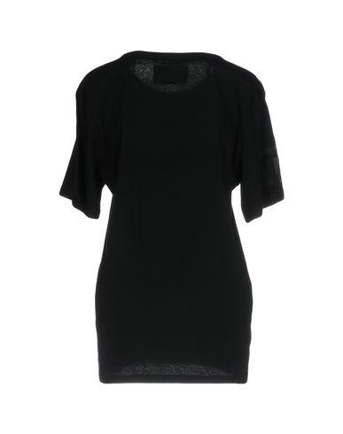 Фото 2 - Женскую футболку NICOPANDA черного цвета