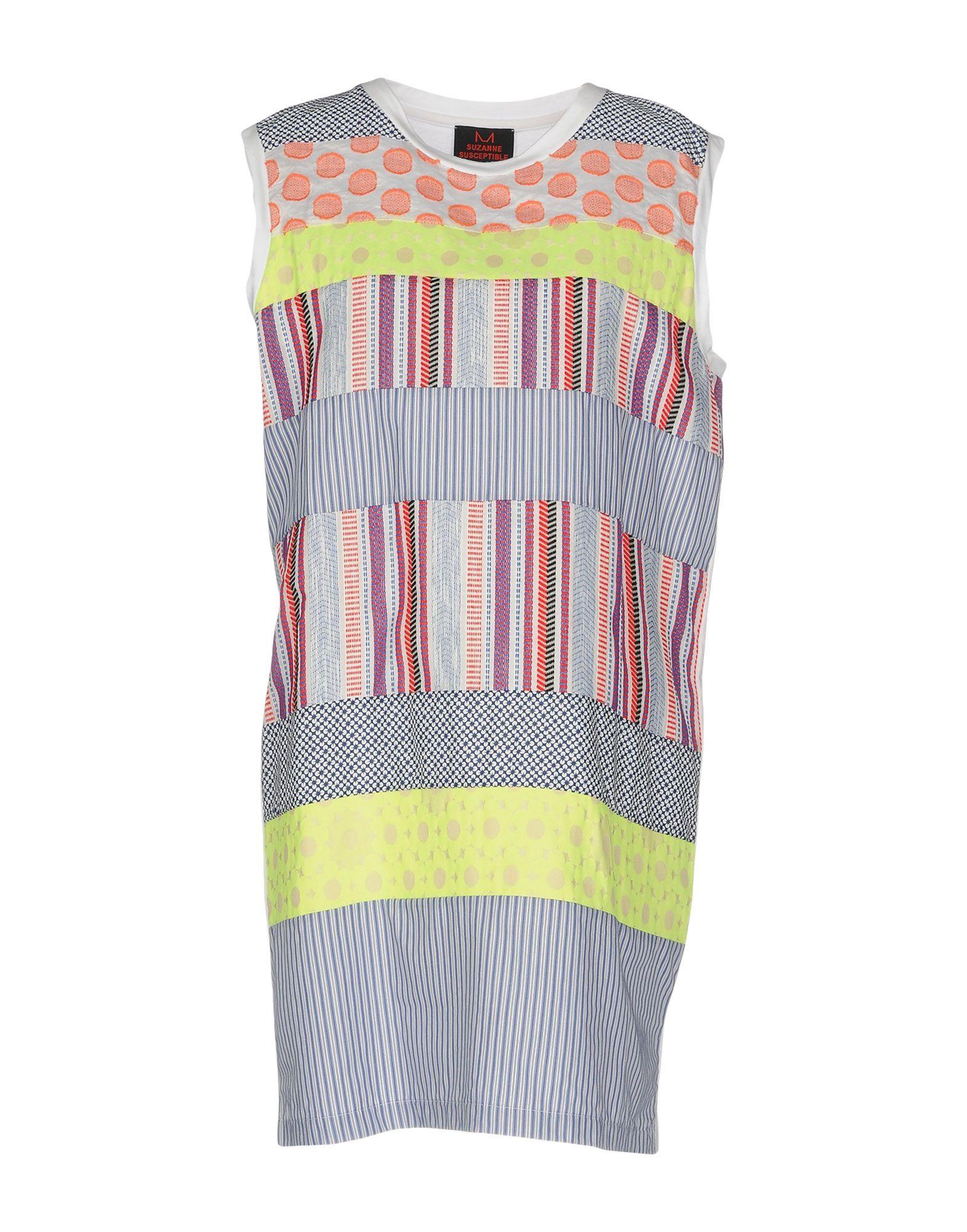 SUZANNE SUSCEPTIBLE Короткое платье suzanne vega bexhill
