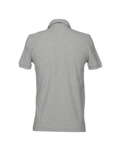 Фото 2 - Мужское поло  светло-серого цвета