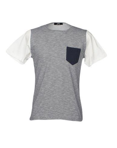 Фото - Женскую футболку +39 MASQ темно-синего цвета