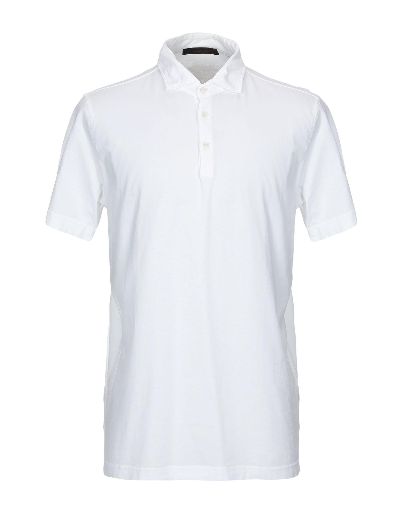 《セール開催中》JEORDIE'S メンズ ポロシャツ ホワイト M スーピマ? 100%