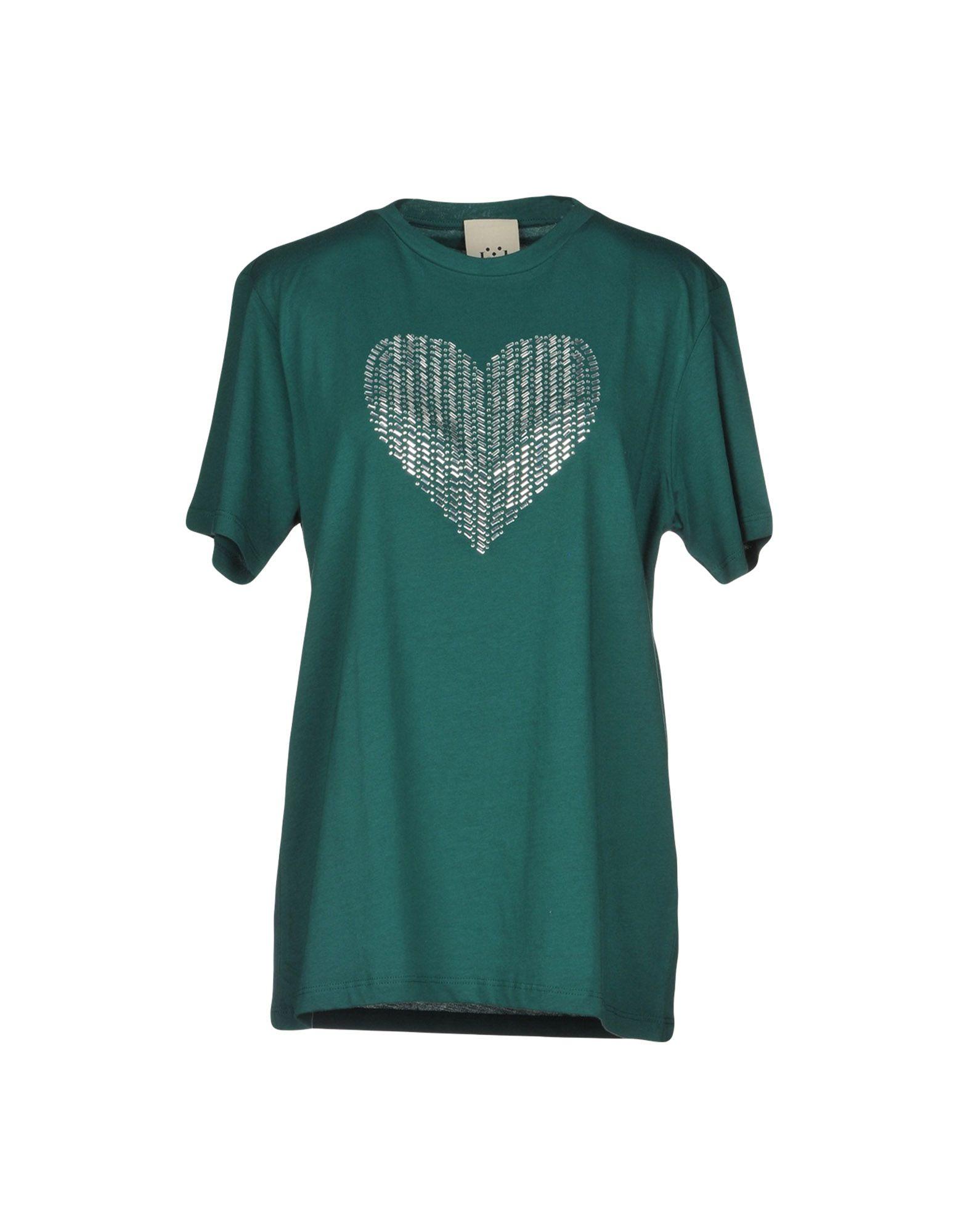JIJIL T-Shirt in Green