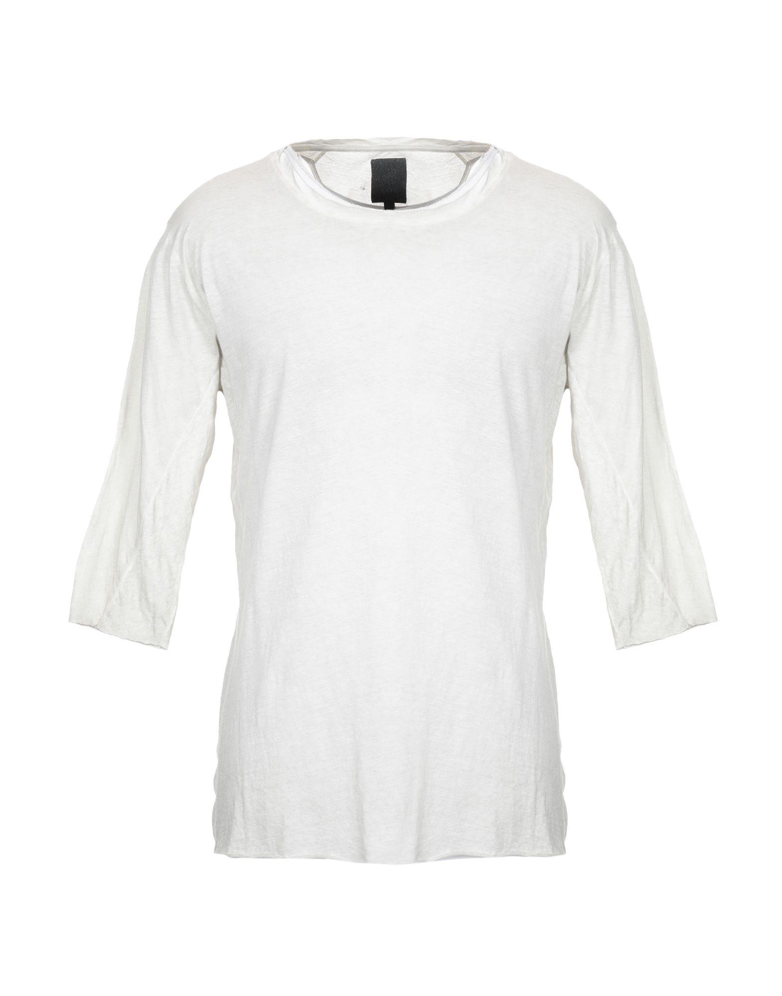 《セール開催中》THOM KROM メンズ T シャツ ドーブグレー L コットン 70% / 麻 30%
