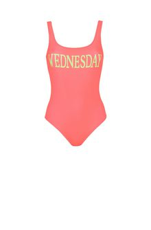 ALBERTA FERRETTI Wednesday fluo swimsuit SWIMMING COSTUME D e