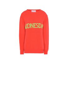 ALBERTA FERRETTI Wednesday fluo sweater KNITWEAR Woman e