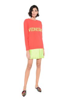 ALBERTA FERRETTI Wednesday fluo sweater KNITWEAR Woman f