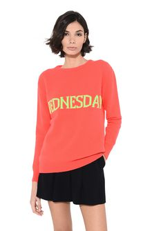 ALBERTA FERRETTI Wednesday fluo sweater KNITWEAR Woman r
