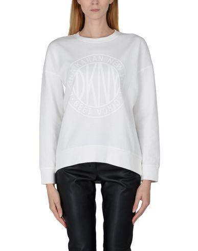 Фото 2 - Женскую толстовку или олимпийку DKNY белого цвета