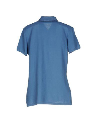 Фото 2 - Женское поло  пастельно-синего цвета