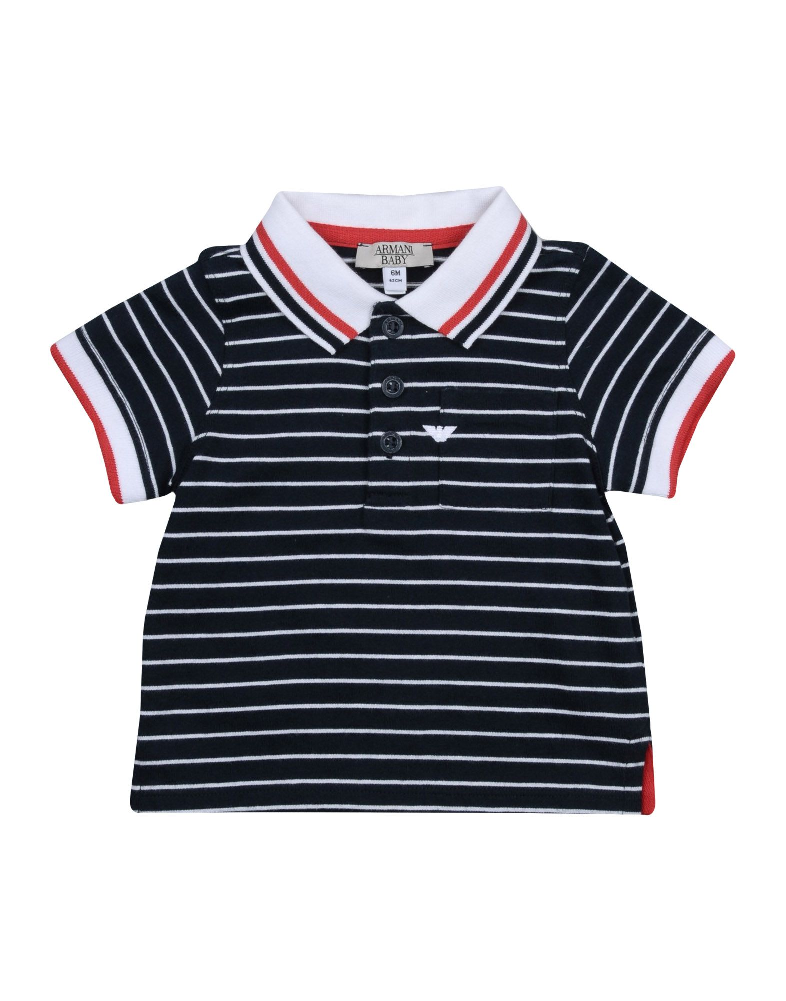 EMPORIO ARMANI KIDS   ARMANI JUNIOR Polo Shirts 12116018   Goxip