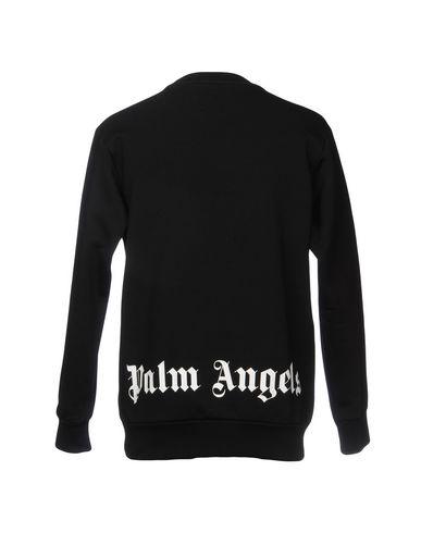 Фото 2 - Мужскую толстовку PALM ANGELS черного цвета