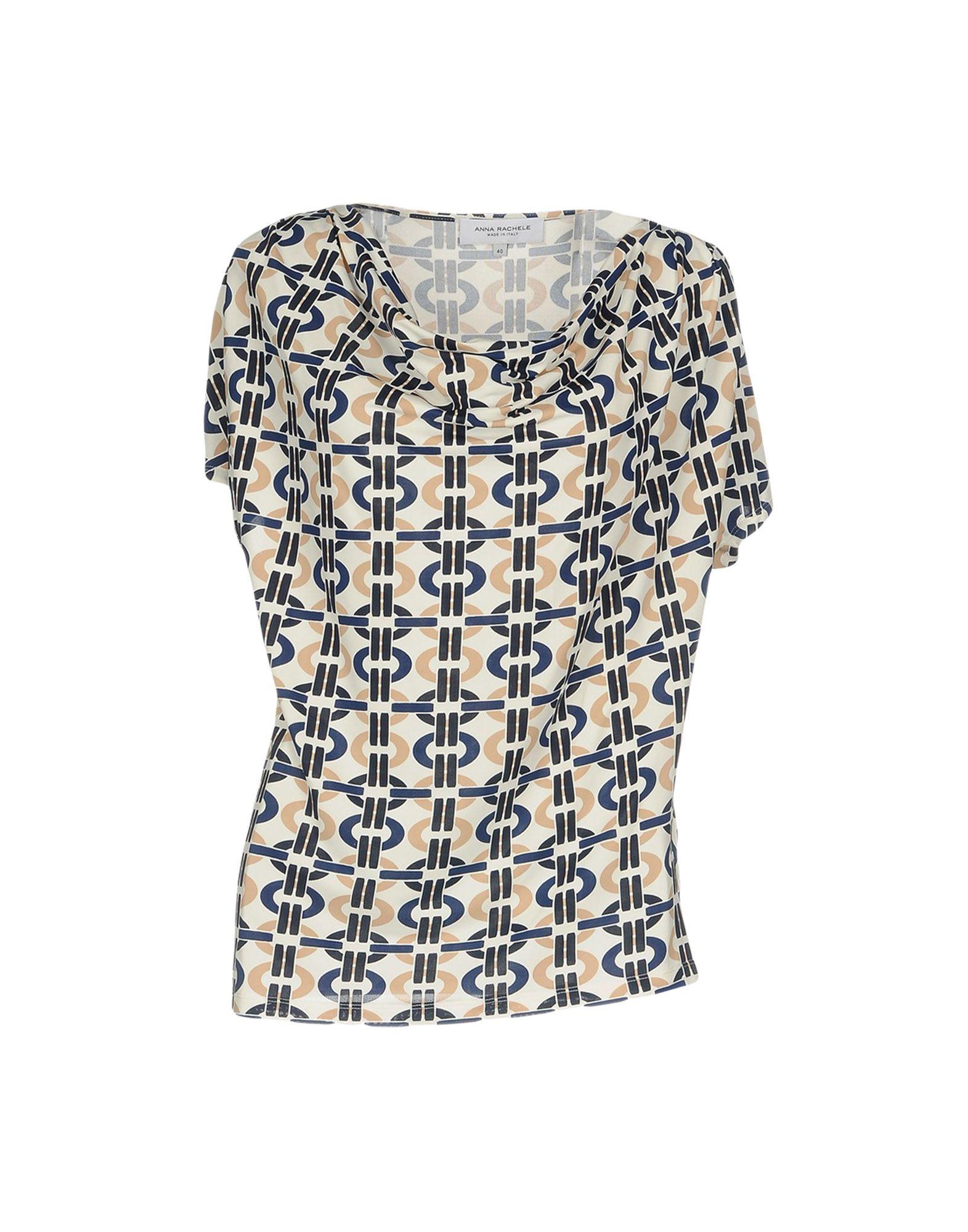 ANNA RACHELE Damen T-shirts Farbe Elfenbein Größe 3