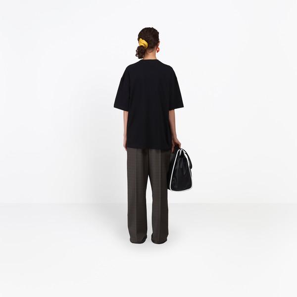 BALENCIAGA JERSEY Woman BB Mode Short Sleeves Top h