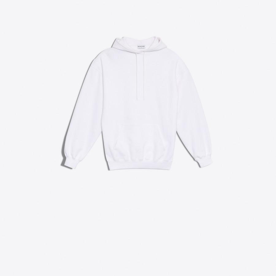 BALENCIAGA Hoody Sweater Balenciaga JERSEY Woman f