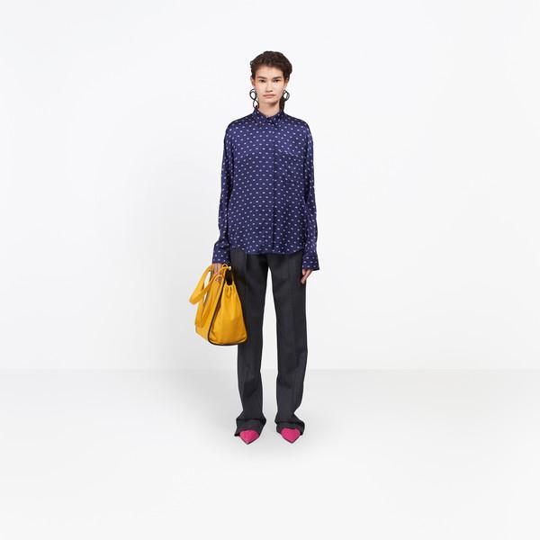 BALENCIAGA Top Woman Slim Cocoon Shirt g