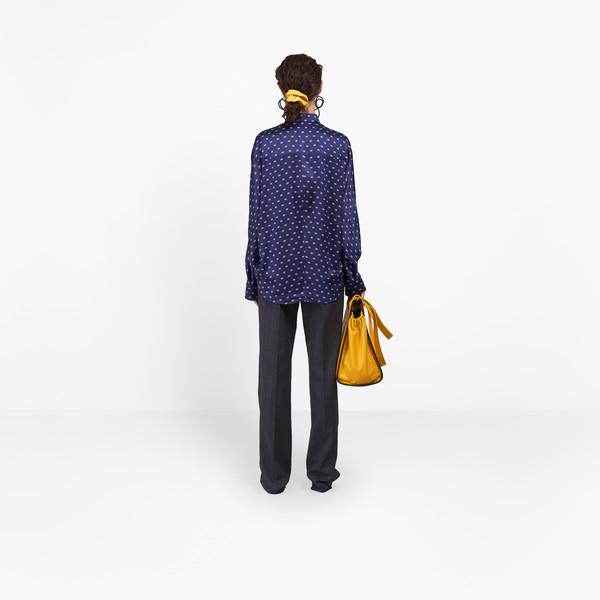 BALENCIAGA Top Woman Slim Cocoon Shirt h