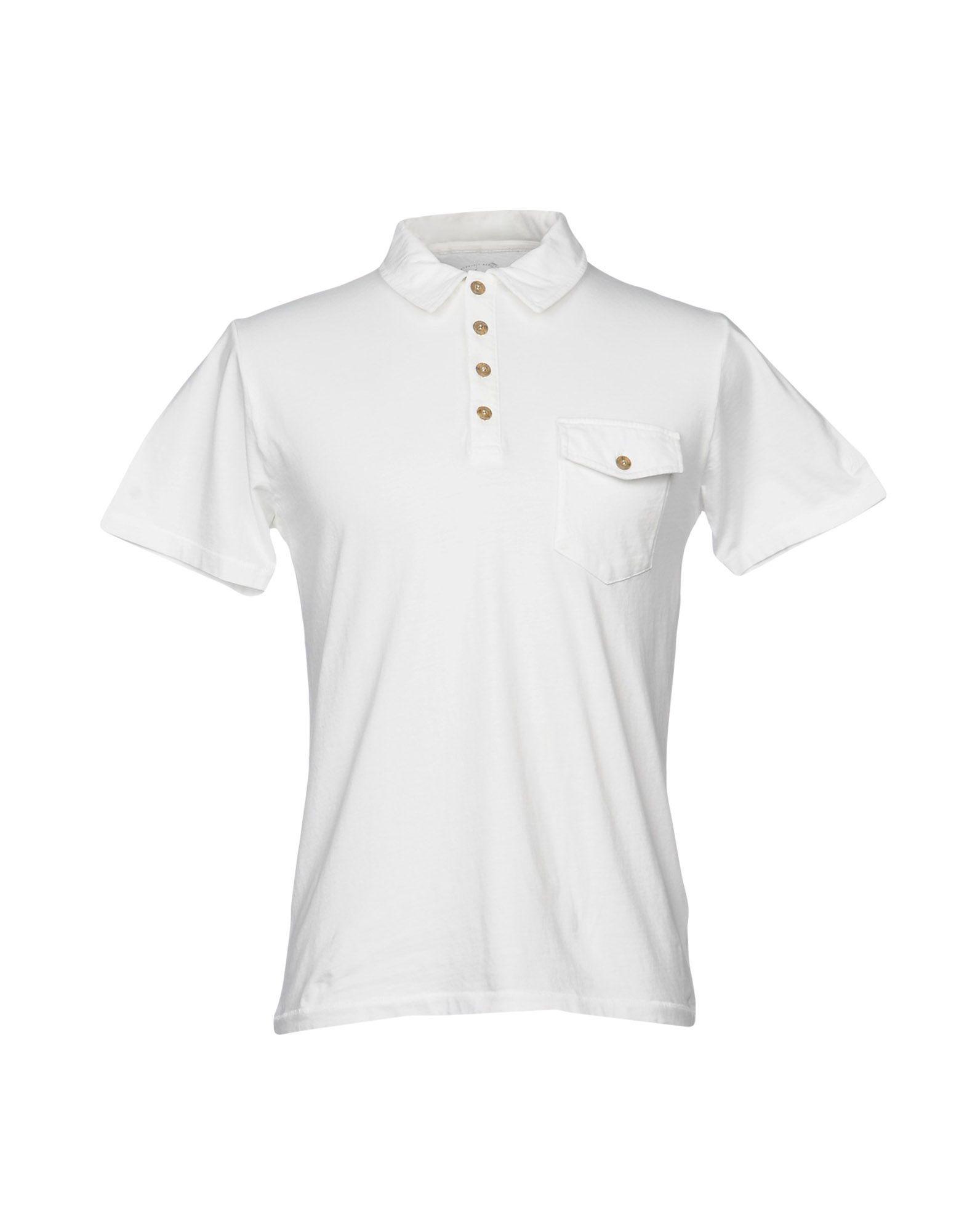 《送料無料》VINTAGE 55 メンズ ポロシャツ ホワイト XXL コットン 100%