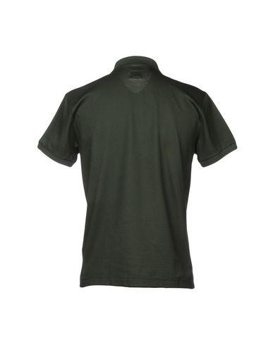 Фото 2 - Мужское поло  темно-зеленого цвета