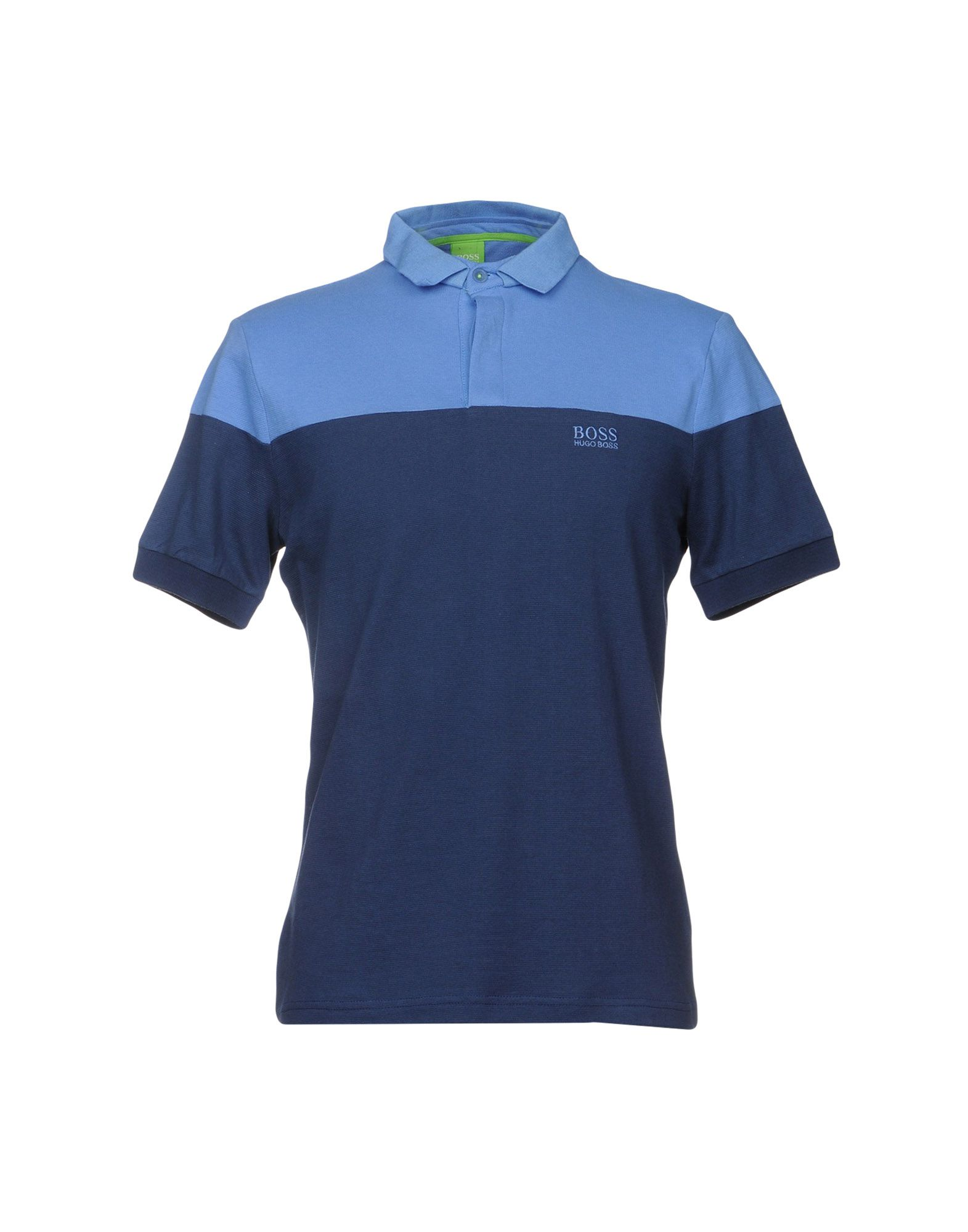 BOSS GREEN Polo Shirt in Blue