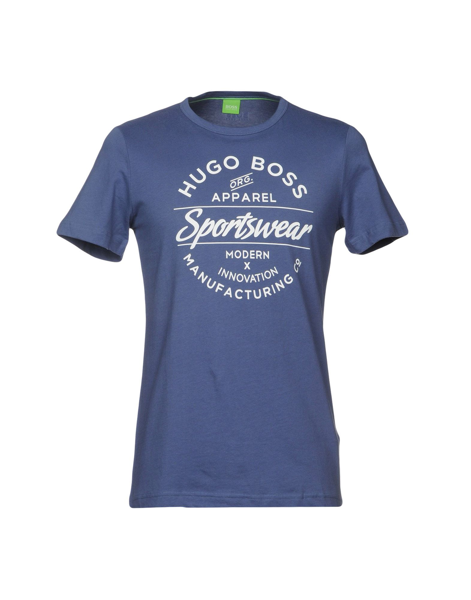 BOSS GREEN T-Shirt in Dark Blue