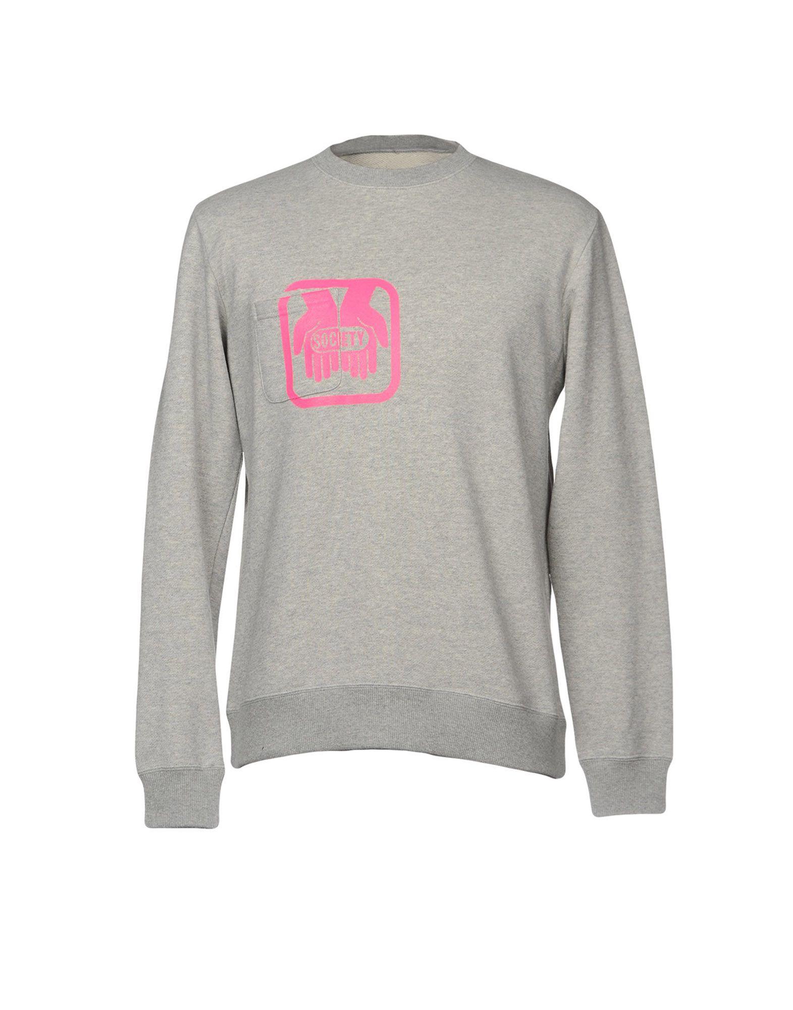 SOCIETY Sweatshirt in Grey