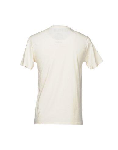 Фото 2 - Женскую футболку BASTILLE цвет слоновая кость