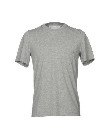 Фото - Женскую футболку DEPARTMENT 5 серого цвета