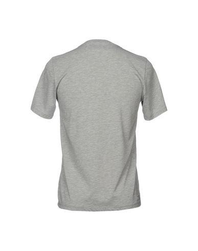 Фото 2 - Женскую футболку DEPARTMENT 5 серого цвета