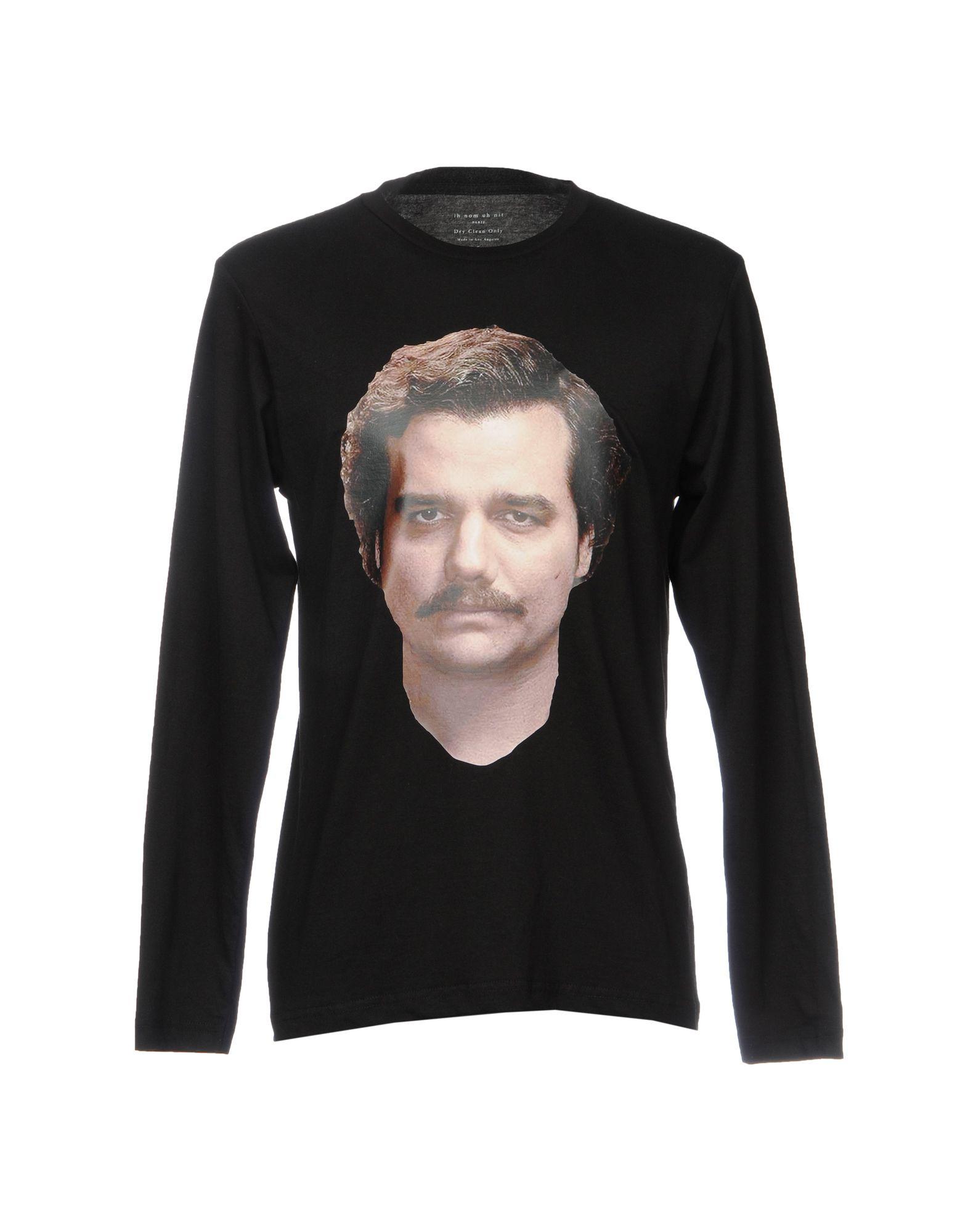 Фото - IH NOM UH NIT Футболка ih nom uh nit черная футболка с долларом