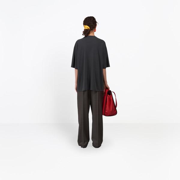 BALENCIAGA JERSEY Woman Paris Short Sleeves T-Shirt h