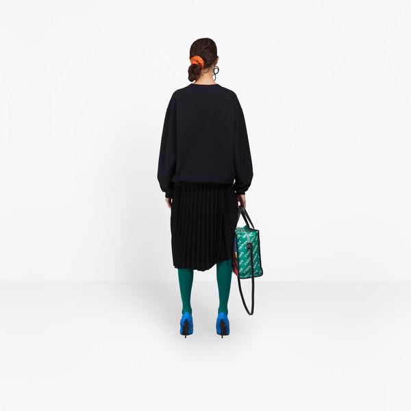 BALENCIAGA JERSEY Woman Cities Hoodie Sweater h