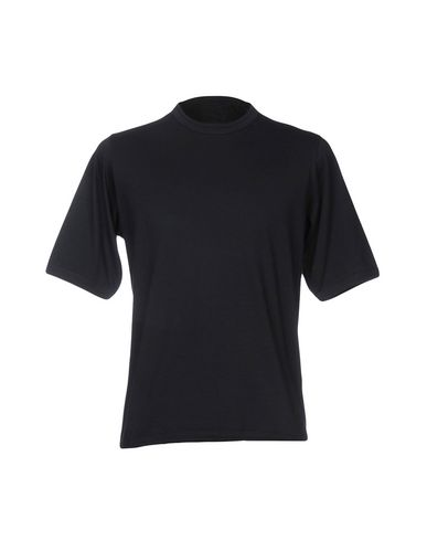 Фото - Женскую футболку CAMO темно-синего цвета
