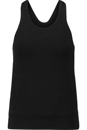 NORMA KAMALI Stretch-cotton jersey tank