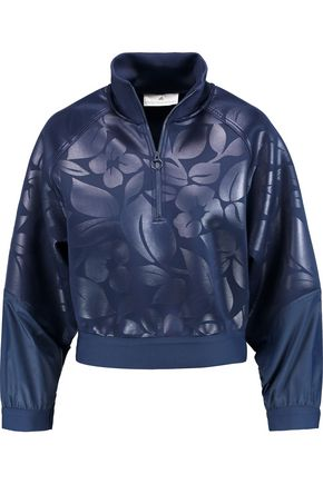 ADIDAS by STELLA McCARTNEY Run neoprene and shell sweater