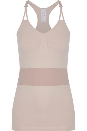 ADIDAS by STELLA McCARTNEY The Lightweight Seamless two-tone stretch tank