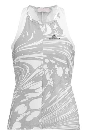 ADIDAS by STELLA McCARTNEY Printed stretch tank