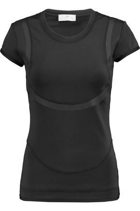 ADIDAS by STELLA McCARTNEY Stretch-jersey and mesh top