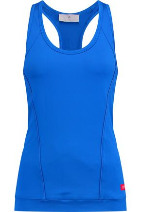 ADIDAS by STELLA McCARTNEY Paneled stretch-knit tank