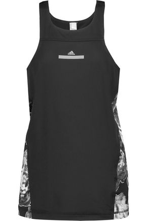 ADIDAS by STELLA McCARTNEY Printed stretch-neoprene tank