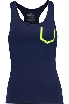 MONREAL LONDON Essential racer-back stretch tank