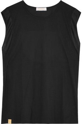 MONREAL LONDON Panelled stretch-neoprene tank