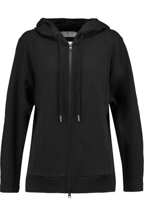 ADIDAS by STELLA McCARTNEY Essentials French cotton-terry hooded sweatshirt