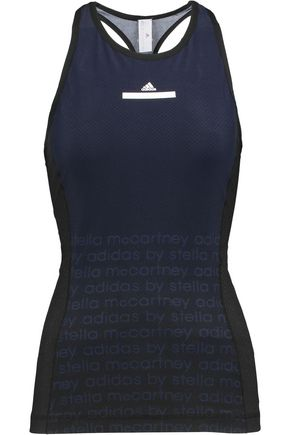 ADIDAS by STELLA McCARTNEY Printed neoprene tank