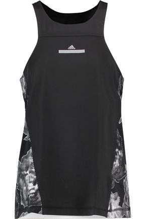 ADIDAS by STELLA McCARTNEY Printed stretch-jersey tank