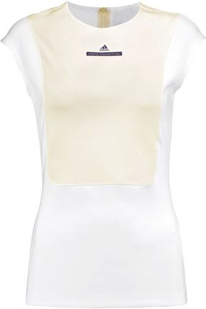 ADIDAS by STELLA McCARTNEY Run two-tone neoprene top