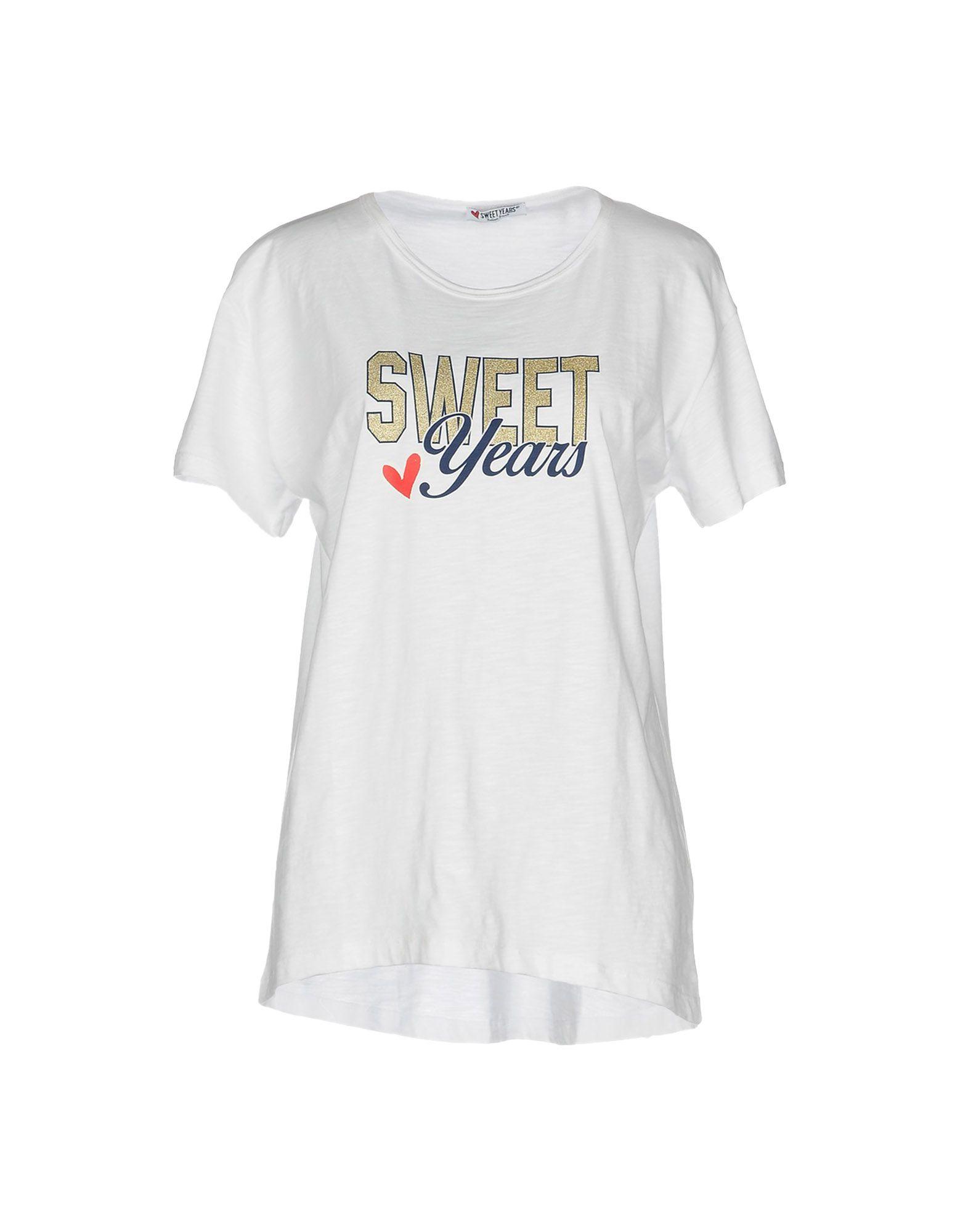 SWEET YEARS Футболка sweet years джинсы sweet years 82pf 00008 225 синий варка