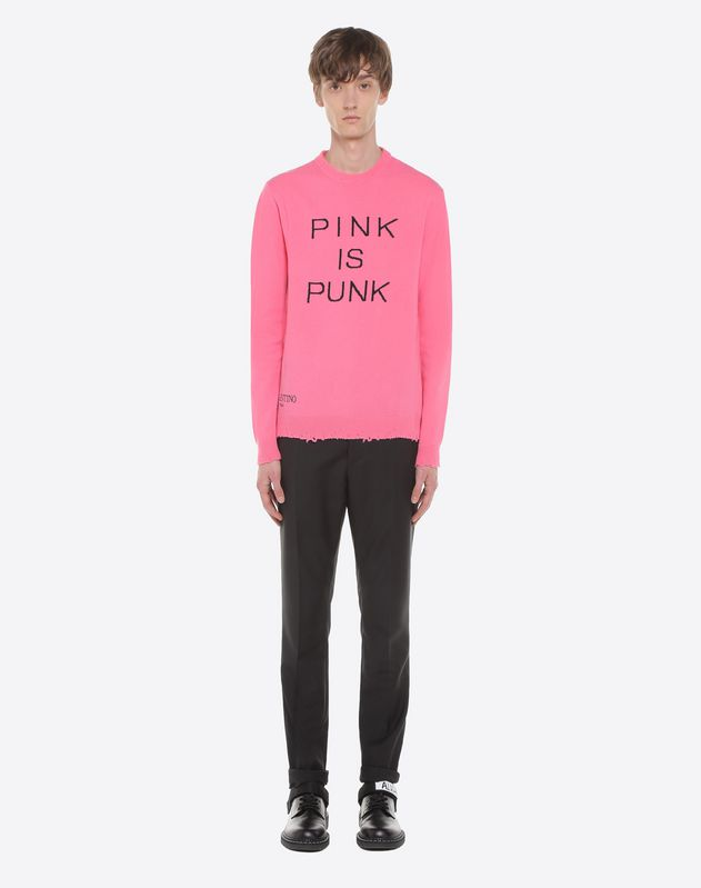 Pink is Punk sweater